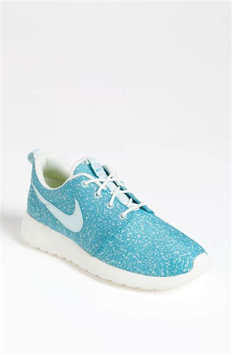 nike roshe run sneaker  blue light blue lyst