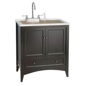 laundry room vanities foremost stratford 30 in laundry vanity in espresso and