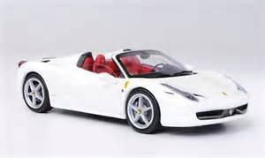 458 italia spider white wheels elite diecast