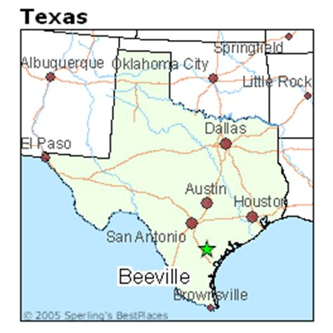 map of beeville texas best places to live in beeville texas