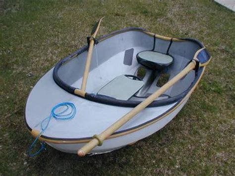 car boat dinghy small light sailboat dinghy sailboat tender of carbon