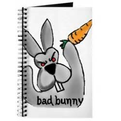 Personalized Housewarming Gifts bad bunny journal by skuzbunnydesign