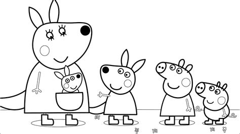 peppa pig and friends coloring pages peppa pig and her friends fun art coloring pages with