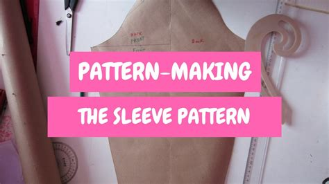 pattern making youtube pattern making how to make the sleeve pattern youtube