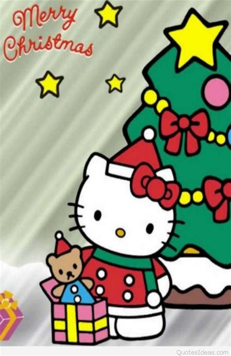 chrsitmas  kitty sayings wallpapers
