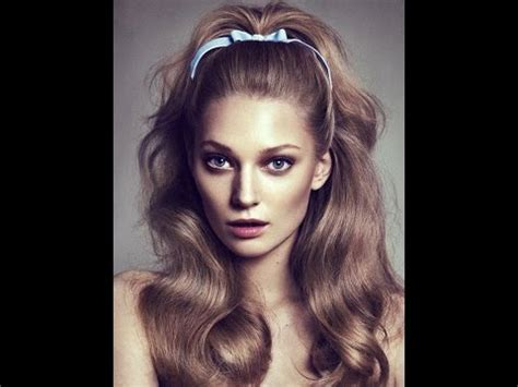 hairstyles of the 60s youtube beautiful 60 s hairstyles for long hair youtube