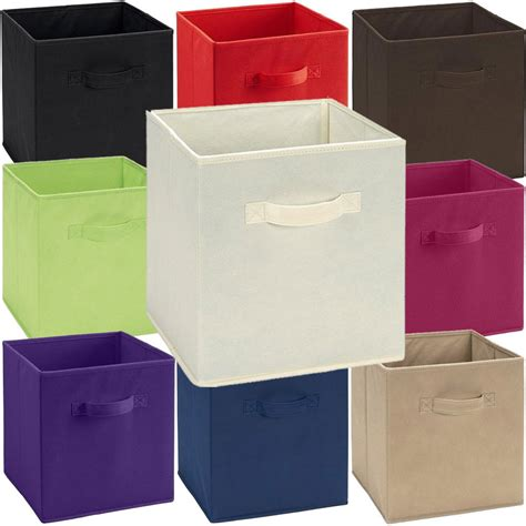 clothing storage bins fabric storage bins cube toys clothes folding closet shelf