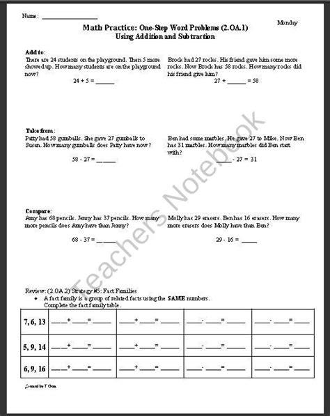 5 Oa 1 Worksheets all worksheets 187 5 oa 1 worksheets printable worksheets