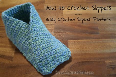 how do you crochet slippers how to crochet slippers easy crochet slipper pattern