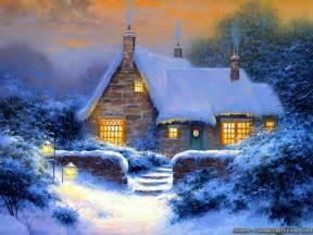 winter cottage wallpapers frankenstein