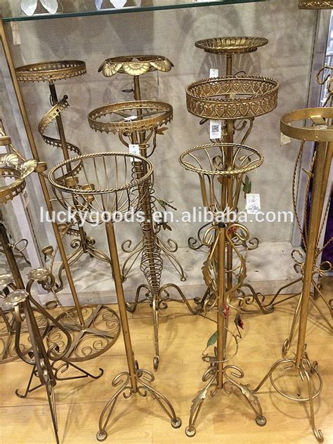 wholesale gold color wedding decoration metal flower stand