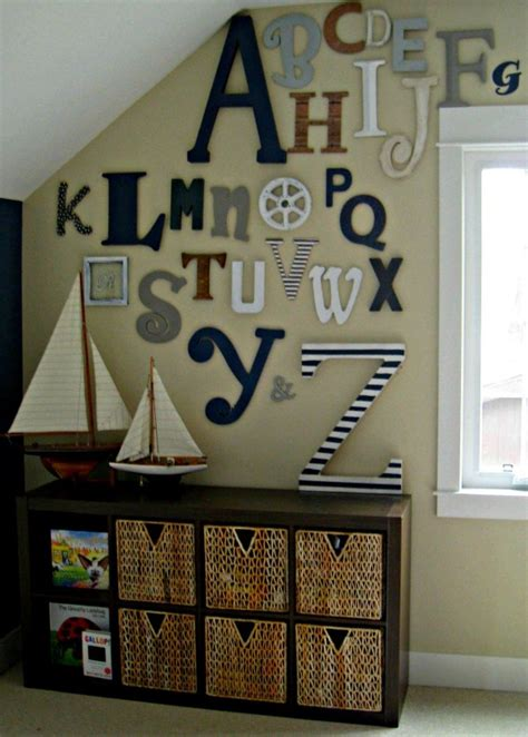 wall letters for room alphabet themed rooms for design dazzle
