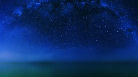 mf cosmos night  lake space starry papersco
