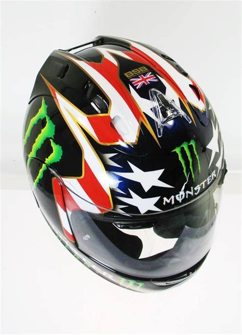 design helmet monster 275 best images about cascos pilotos motociclismo on