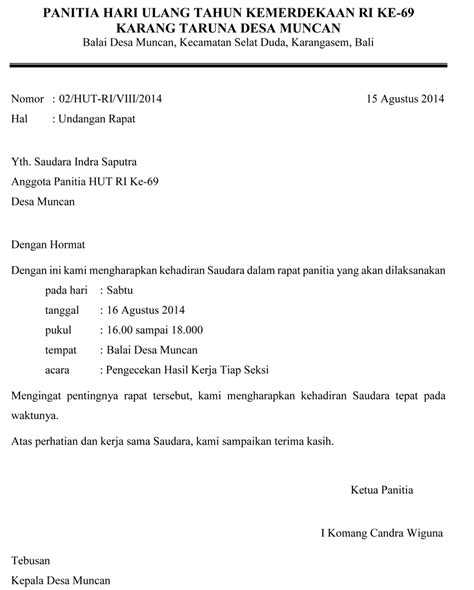 contoh surat undangan contoh surat review ebooks