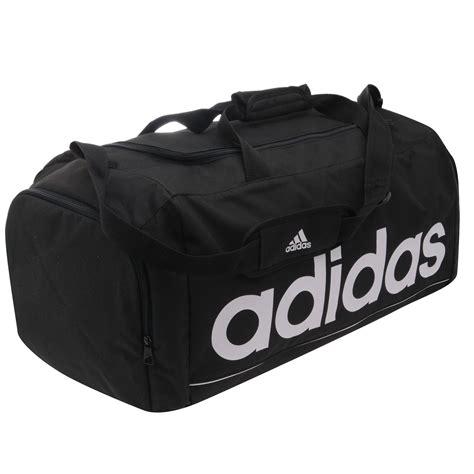 Sportbag Adidas Logo adidas essentials team logo holdall black white sports bag ebay