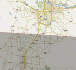 map of oregon totality total solar eclipse 2017 path through the united states