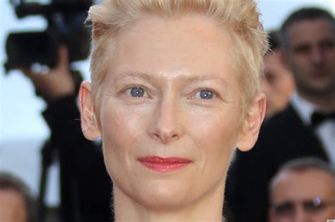 narnia movie heroine photos tilda swinton for chanel karl lagerfeld casts actress in