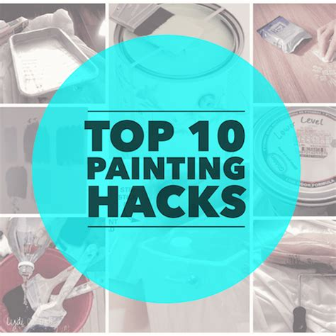 hack and paint top 10 diy painting hacks lydi out loud