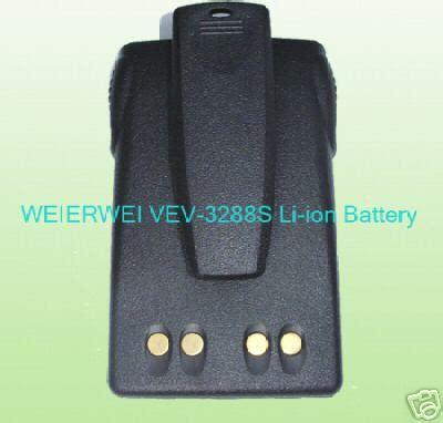 Batery Weierwei 3288 Original weierwei vev 3288s li ion battery1200mah beltclup b61