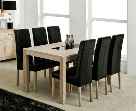 mexico ash large dining table and chairs