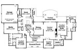 Classic Home Floor Plans by Classic House Plans Laurelwood 30 722 Associated Designs