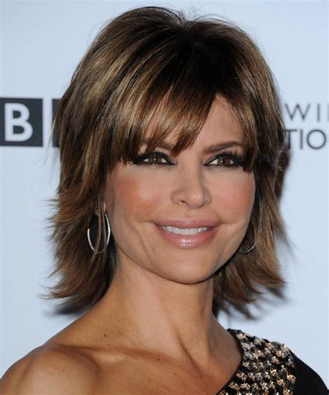 long shag short on top 27 best lisa rinna images on pinterest hairstyles short