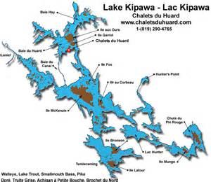 map of lake kipawa