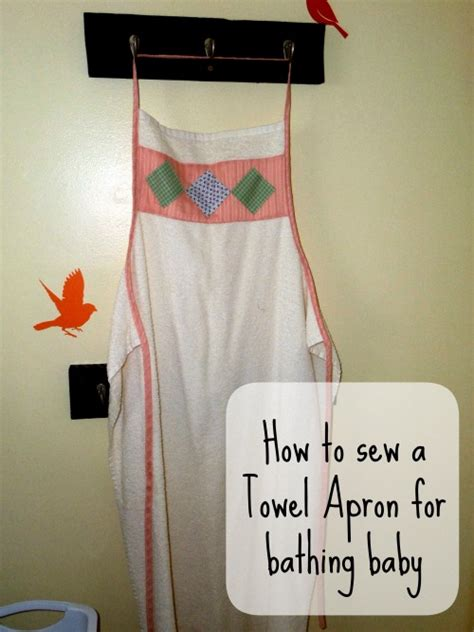 pattern for apron with towel pattern for baby towel apron free easy sew instructions