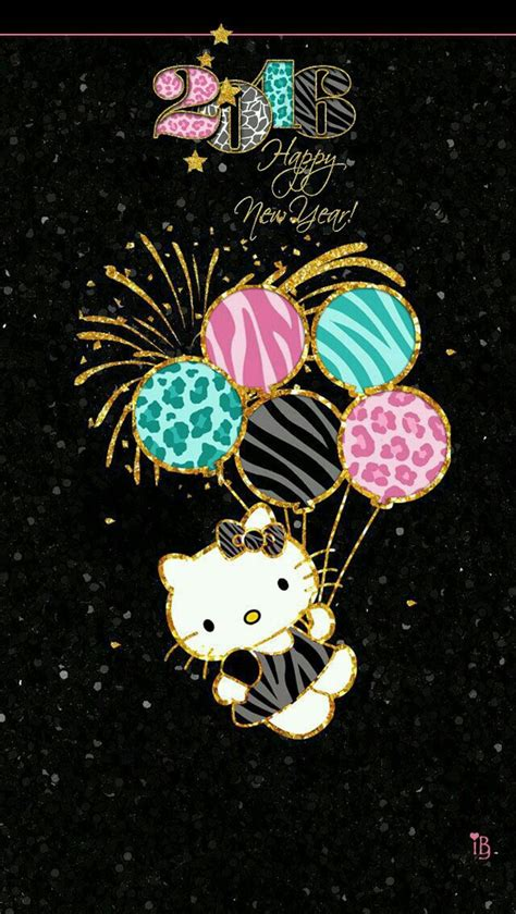 hello kitty new year wallpaper wallpaper image 3891208 by kristy d on favim com