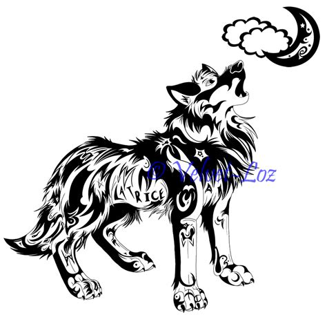 howling wolf tattoo designs gallery for gt growling wolf designs