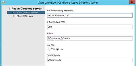 configure xp multiple domains how to configure ha ldap server with the vro active