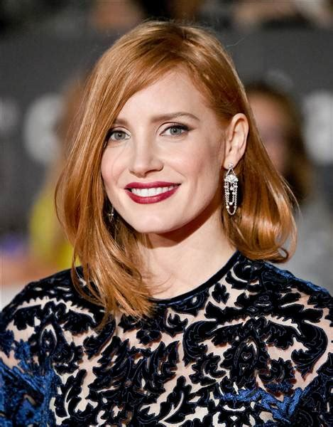 most versatile haircut jessica chastain hair how to get her lob haircut today com