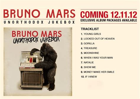 bruno mars mp3 full album free download album cover tracklist bruno mars unorthodox jukebox