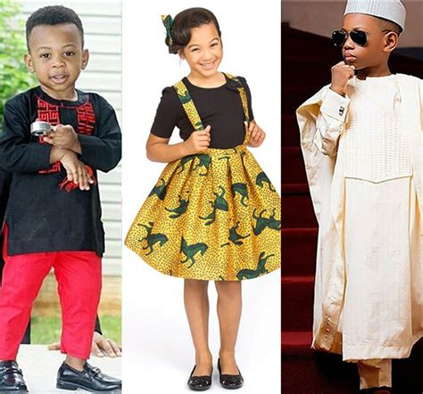 Aso Ebi And Ankara Styles For Kids And Children | latest ankara aso ebi styles for children