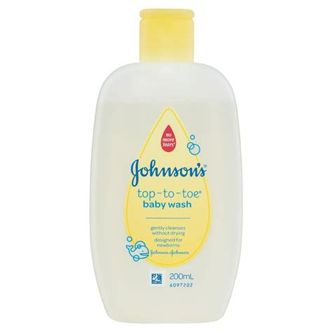 Johnson Tap To Toe Sensitive Touch Baby Wash Sabun Mandi Cair Bayi 200 buy johnson johnson johnson s baby bath top to toe wash 200ml at chemist warehouse 174