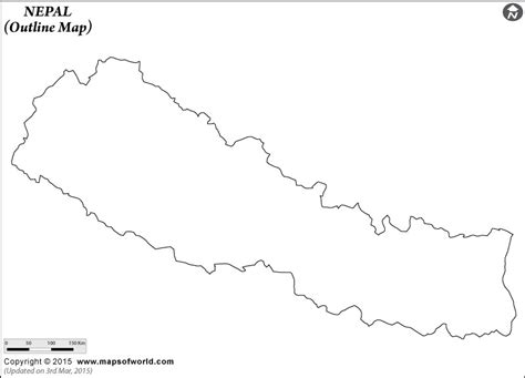 nepal map coloring page blank map of nepal nepal outline map