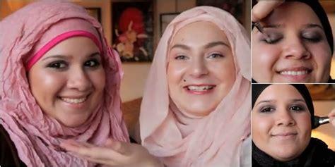 tutorial eyeliner untuk wajah bulat tutorial makeup pesta untuk wanita muslimah berwajah bulat