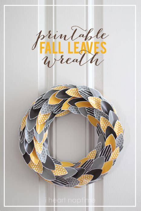 40 fall wreaths to make for your front door
