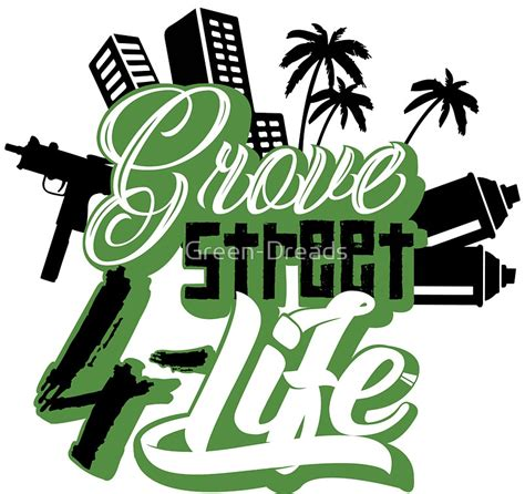 street logos street graphics 0500284695 gta san andreas grove street 4 life www pixshark com images galleries with a bite