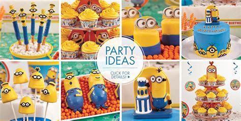 City Minion Decorations by Minion Cake Supplies Minion Cupcake Cookie Ideas