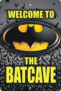 Personalized Jewlery Welcome To The Batcave Personalized Custom Made Aluminum Sign