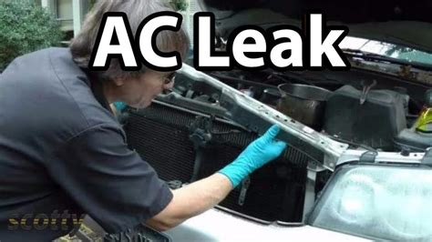 car air conditioner refrigerant with stop leak how to fix small ac refrigerant leaks on your car
