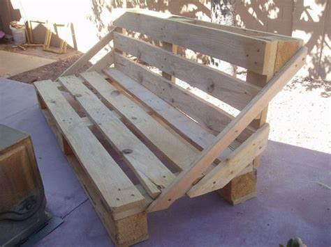 bench project recycled wood pallet benches pallet wood projects