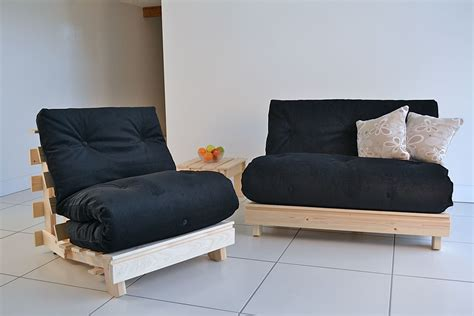 Traditional Futon by Traditional Compact Futon Converts To Bed To A