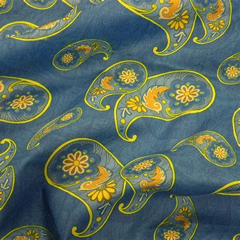 Paisley Upholstery Fabric Uk by Cotton Lawn Paisley Design Fabric Uk