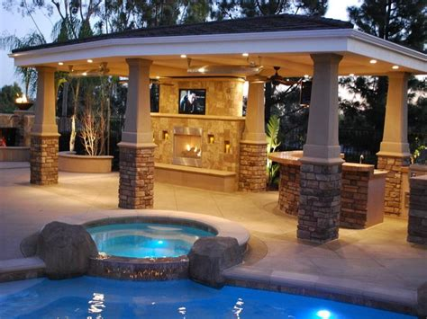 Backyard Patio Bar Covered Patio Roof Designs Unique Hardscape Design