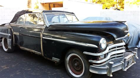 Chrysler T C by Bf Exclusive 1949 Chrysler T C Convertible