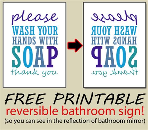 bathroom signs printable free download here free