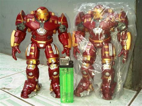 Mainan Figure Ironman Tinggi 6 Inch Artikulasi jual mainan figure the ironman hulkbuster